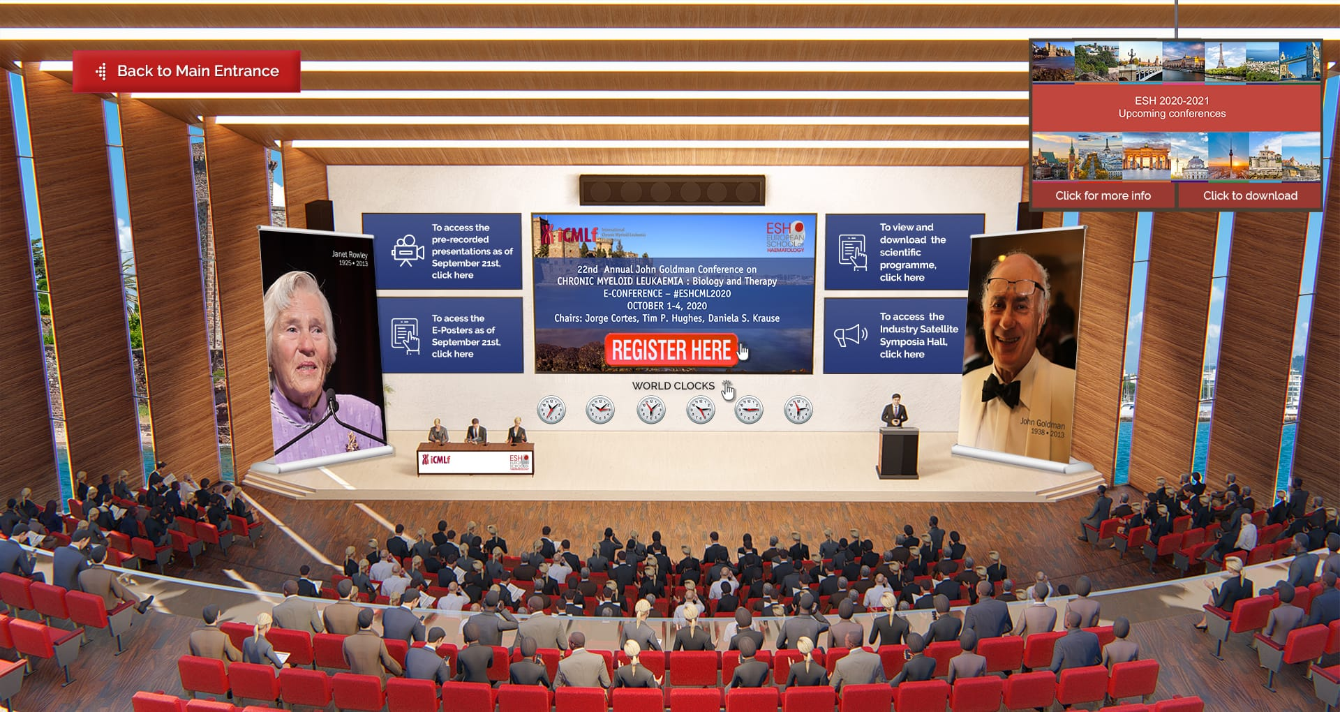 Annual John Goldman E-conference on Chronic Myeloid Leukemia: Biology And Therapy